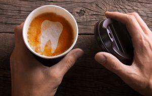 avoid dark-colored drinks to preserve teeth whitening